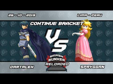 Smash Bunker Reloaded - DartAlex (Marth) vs Spryggan (Peach) - Continue Bracket