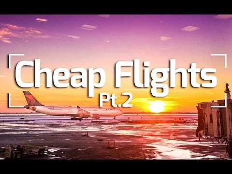 HOW TO BOOK CHEAP FLIGHTS - TRAVEL TIPS