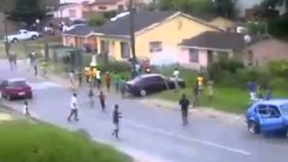 Car spinning stunt went wrong. Durban South Africa