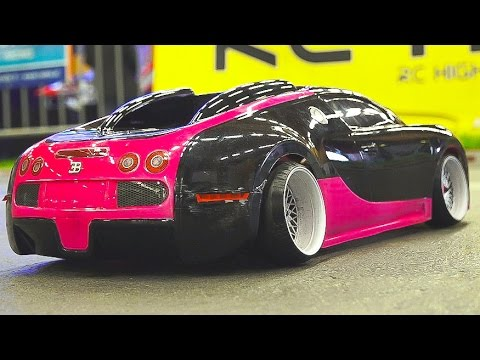 MEGA RC DRIFT CAR RACE MODEL SHOW!! RC BUGATTI VEYRON*RC BMW*RC TOYOTA*RC HONDA