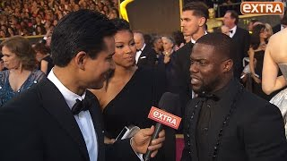 Kevin Hart on Persuading Chris Rock to Host Oscars Amid #OscarsSoWhite Controversy