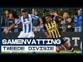 HIGHLIGHTS | Weer een enerverende derby in de Tweede Divisie