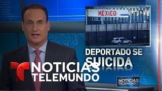 Joven deportado se suicida al llegar a México | Noticiero | Noticias Telemundo