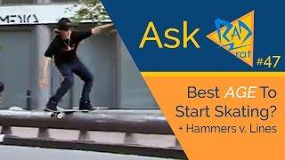 #AskRadRat (47) - Best Age to Start Skating? Hammers Vs. Lines 🔨