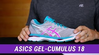 Asics GEL Cumulus 18 Women's Running Shoe video