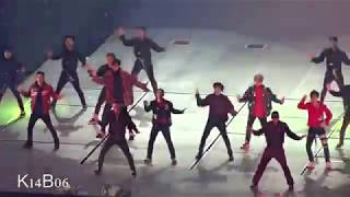 171125 Coming over + Run This + Drop That + Power - EXO PLANET #4 - The ElyXiOn in Seoul [직캠]