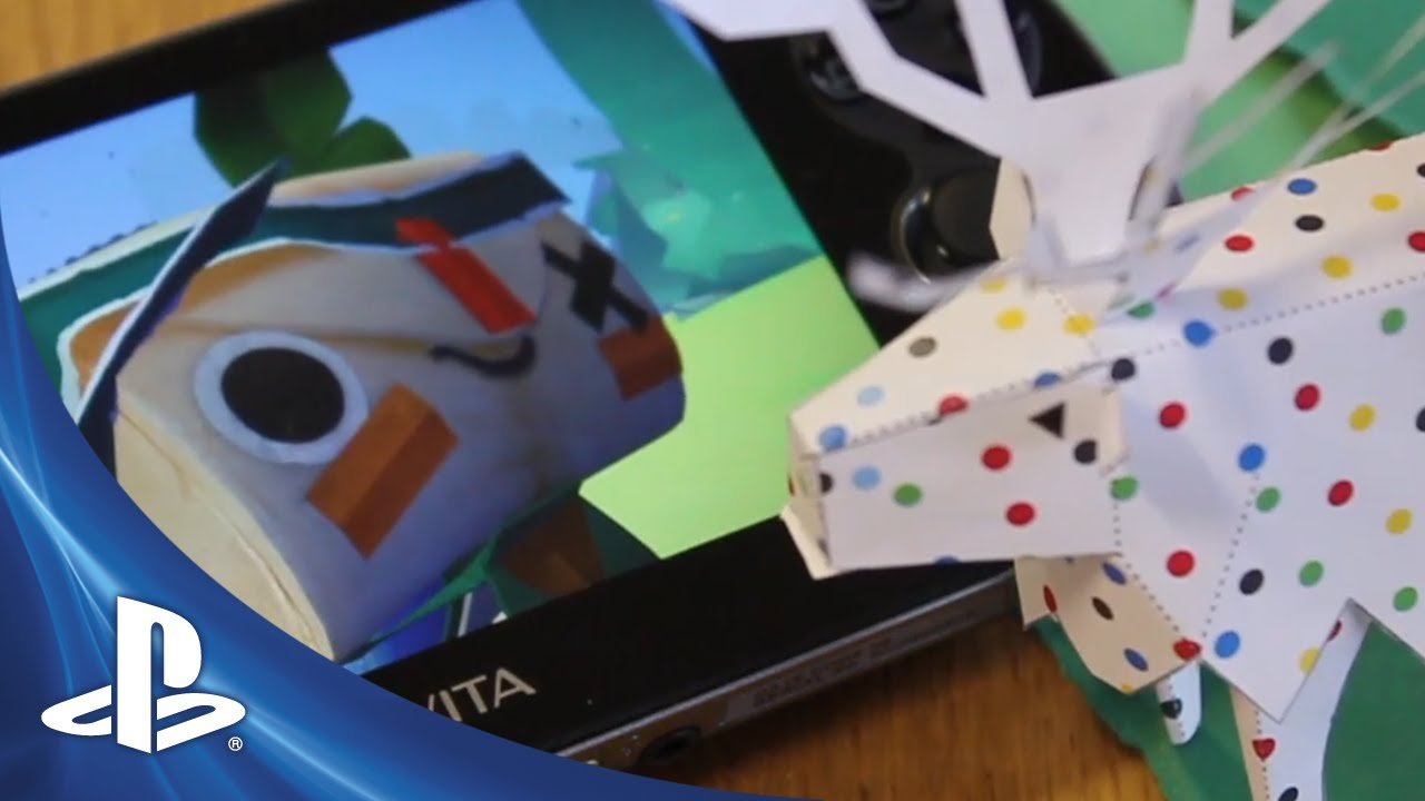 Media Molecule's New Project Revealed: Tearaway for PS Vita