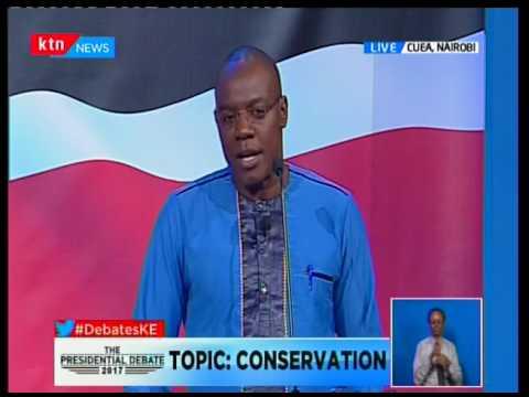 Presidential candidate Michael Wainaina's take on Kenyas heritage and wildlife