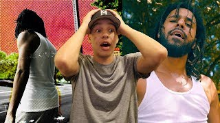 J. Cole- Album Of The Year (Freestyle) REACTION