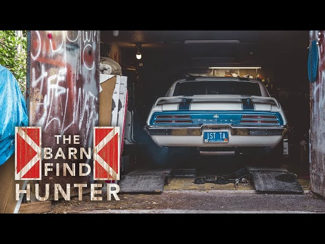 This father-son barn find duo in Alaska owns Jim Wangers' 1969 Trans Am 400