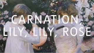 John Singer Sargent – Carnation, Lily, Lily, Rose | Art Close Up | Tate