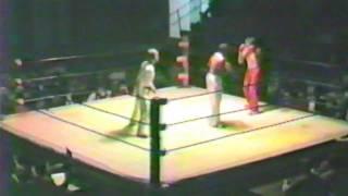 Tri State Kickboxing Championships 80's Reginald Logan vs John Henderson