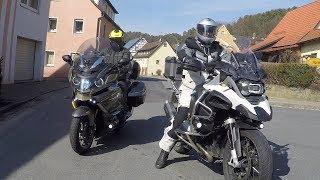 BMW K1600 vs.  R1200GS