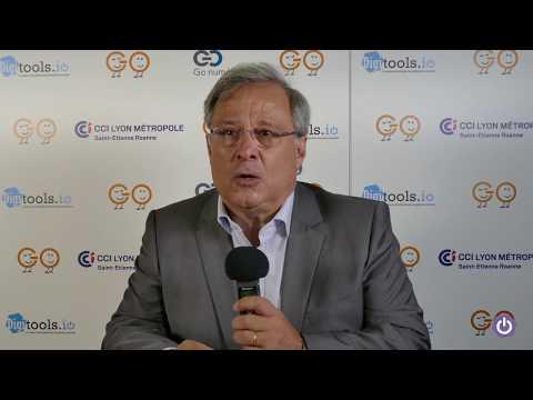 Go numérique 2017 :  Emmanuel Imberton,  président de la CCI LYON METROPOLE Saint-Etienne Roanne