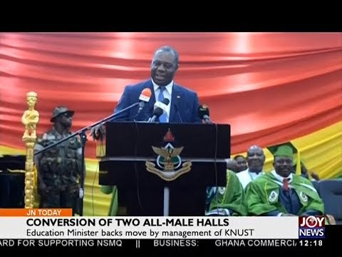 Conversion of Two All-Male Halls - Joy News Today (16-7-18)