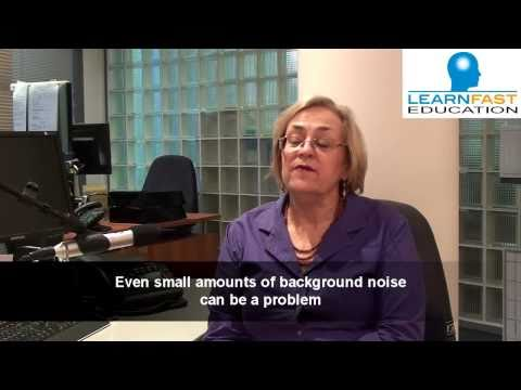 Screenshot of video: Auditory Processing Disorder- identifying symptoms
