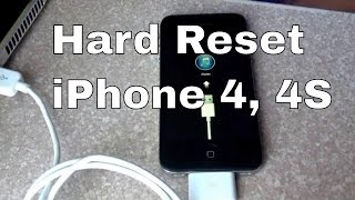 How to Hard reset iPhone 4S through recovery mode