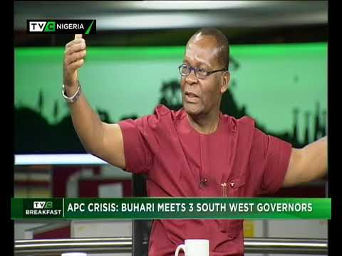 TVC Breakfast 6th November 2018 | APC crisis: Buhari meets 3 Southwest governors (видео)