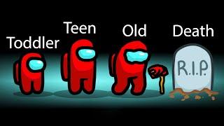 Among Us NEW GROWING UP Sabotage! (Ageing Mod)