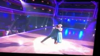 Nancy Grace Week 3 Waltz DWTS