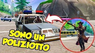 POLICE CHALLENGE su Fortnite Battle Royale