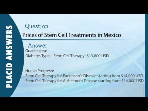 Cost of Stem Cells Transplant in Mexico