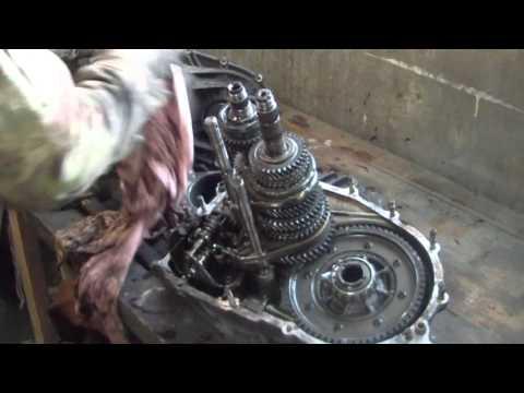 ремонт кпп ваз, замена передачи.