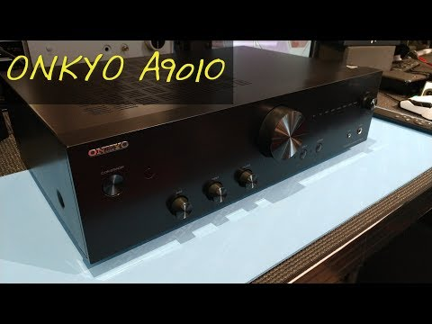 Z Review – Onkyo A9010 [The Return of Real Amplifiers]