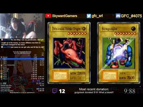 Yu-Gi-Oh! Forbidden Memories in 1:24:36 [Commentated] | XalOne