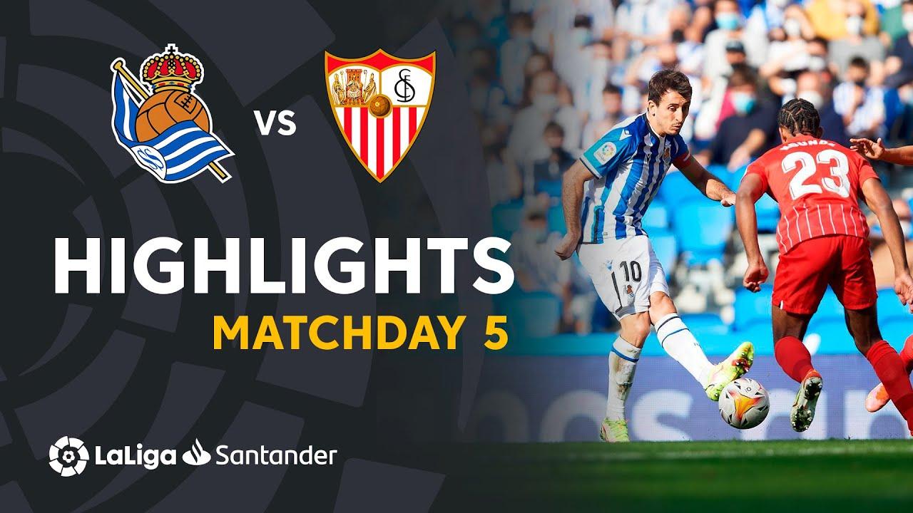 Resumen de Real Sociedad vs Sevilla FC (0-0)