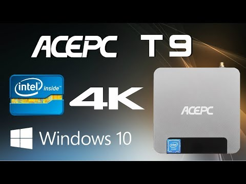 ACEPC Mini PC Windows 10 Mini PC Intel Atom x5-Z8350 2GB RAM Quad