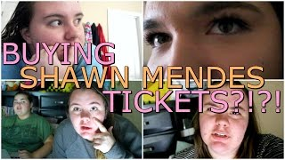 BUYING SHAWN MENDES TICKETS?!?! | VLOG