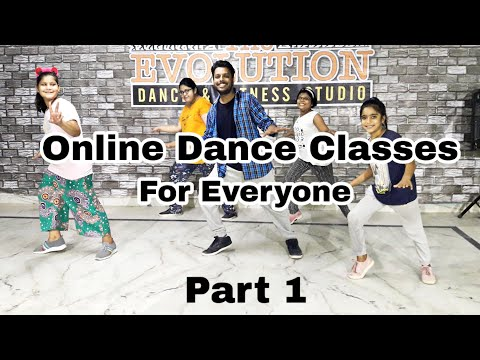 Online Dance Class For Everyone - Part 1 | Step By Step Dance Tutorial | Easy and Simple Dance Moves
