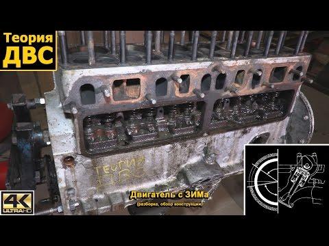 Теория ДВС: Двигатель с ЗИМа (разборка, обзор конструкции)