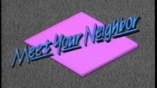 "KLFY TV-10 noon news open ""Meet Your Neighbor"" 1988 (Hello News)"
