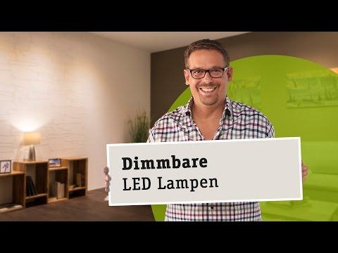 Dimmbare LED Lampen - die richtige Wahl von Leuchtmittel, Trafo und Dimmer