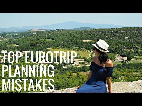 Video 8 Mistakes Not to Make When Planning a Europe Trip