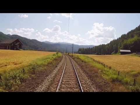 Oslo-Bergen treintraject