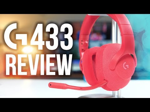 Logitech G433 Gaming Headset Review! 7.1 Surround Sound for $99