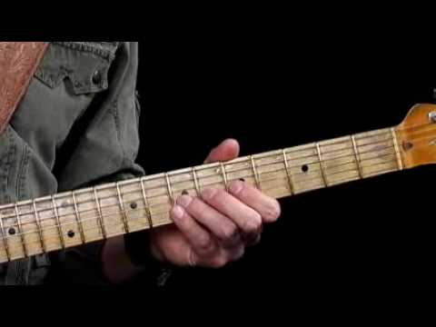 Guitar Lessons - Sweet Notes - E9 Chord Tones - Blues Progression