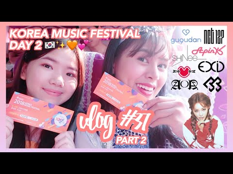 "Vlog #37 (Part 2): Koreans called me ""pabebe""?! + Korea Music Festival Day 2 