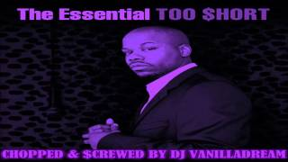 Too Short ft. Ice Cube - Ain't Nothin' But A Word To Me (Chopped & Screwed) by DJ Vanilladream