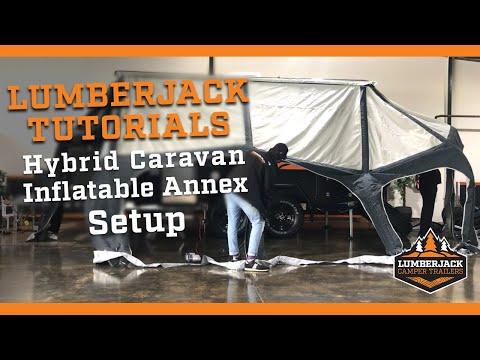 Hybrid Caravan Inflatable Annex Setup Tutorial