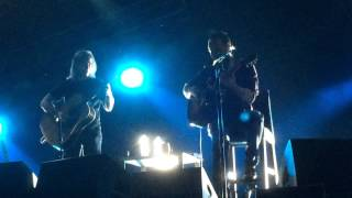 Dave Matthews and Tim Reynolds - Intro into Deed Is done and So Damn Lucky - Joint - 1/8/14