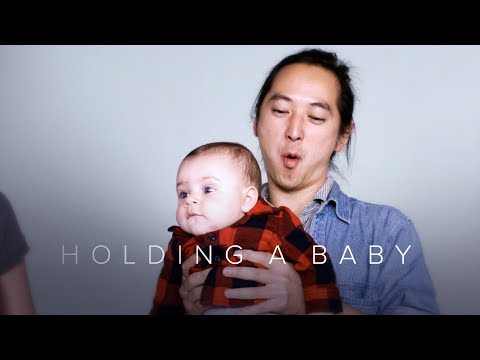 Holding a Baby for the First Time in Slow Motion – First Takes