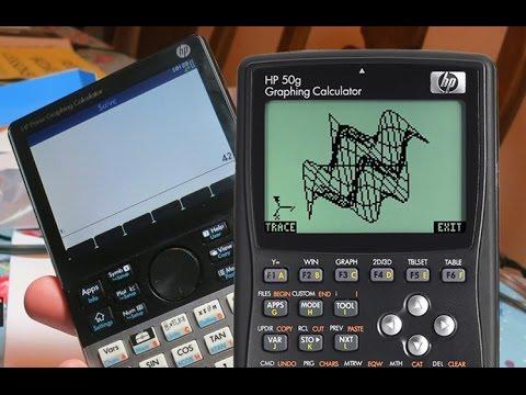 Calculadora gráfica HP Prime e HP 50G