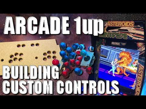 Arcade 1Up Mods! Change Out The Controls, Add More Games