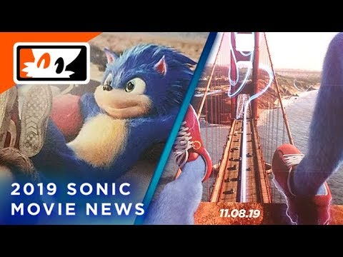 Sonic The Hedgehog 2019 Movie Poster Teaser Sonic First Look