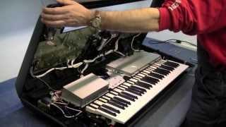 MF#10 inside the yamaha tyros 4 keyboard teardown