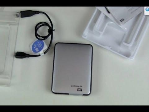 WD My Passport 2TB externe USB 3.0 Festplatte Unboxing